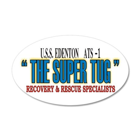 Super Tug ATS -1 22x14 Oval Wall Peel