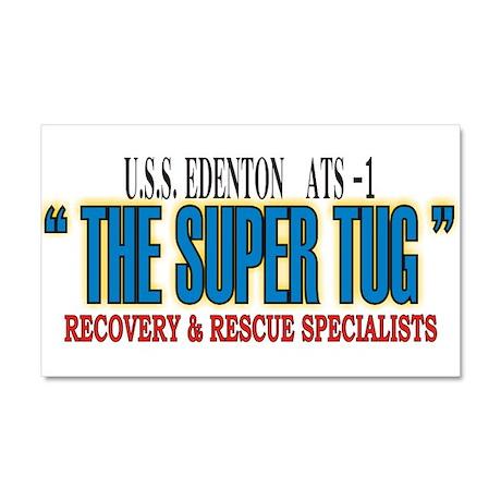 Super Tug ATS -1 Car Magnet 20 x 12