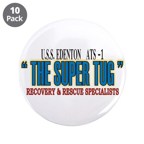 """Super Tug ATS -1 3.5"""" Button (10 pack)"""
