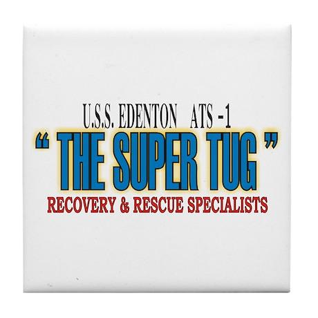 Super Tug ATS -1 Tile Coaster