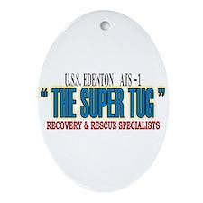 Super Tug ATS -1 Ornament (Oval)