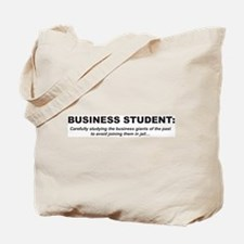 Business Student 1 Tote Bag