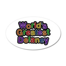 World's Greatest Delaney Wall Decal