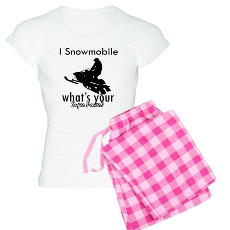 I Snowmobile Women's Light Pajamas