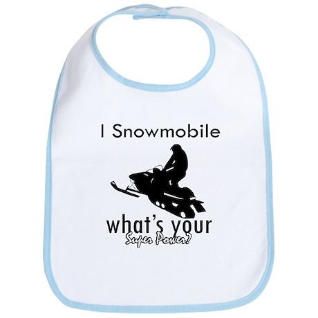 I Snowmobile Bib