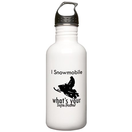 I Snowmobile Stainless Water Bottle 1.0L