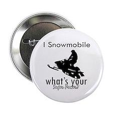 """I Snowmobile 2.25"""" Button"""