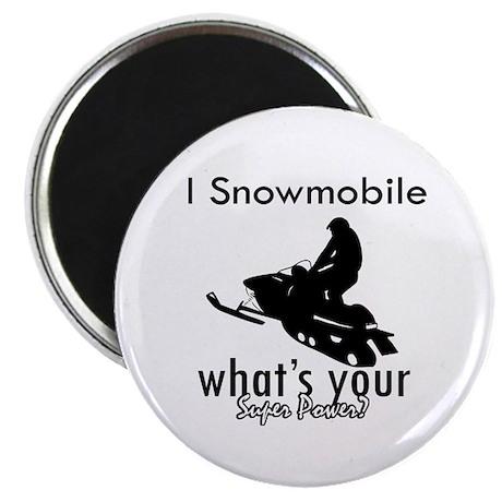 I Snowmobile Magnet