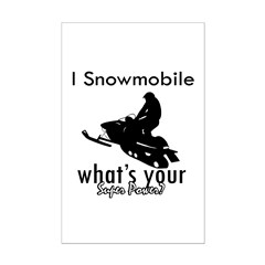I Snowmobile Posters