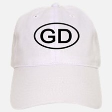 GD - Initial Oval Baseball Baseball Cap