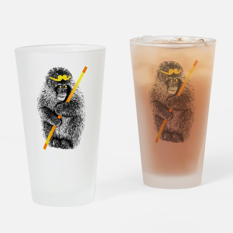 Monkey King Wukong Drinking Glass