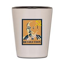 Lenin House Music Revolution Shot Glass