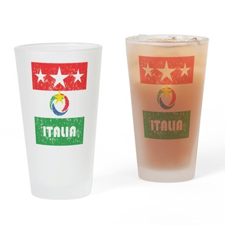 PART 2/7 - ITALY WORLD CUP 20 Drinking Glass