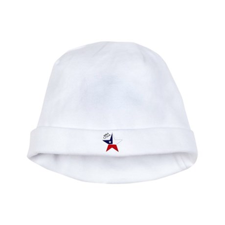 Made in Chile star flag baby hat