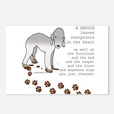 Bedlington Terriers Postcards (Package of 8)