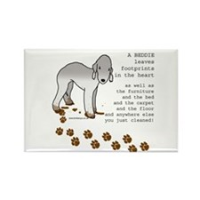 Bedlington Terriers Rectangle Magnet