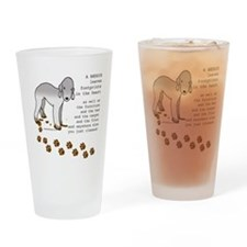 Bedlington Terriers Drinking Glass