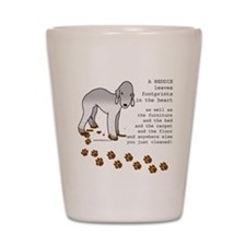 Bedlington Terriers Shot Glass