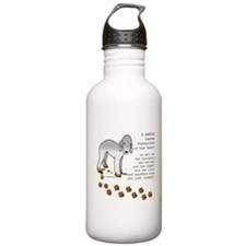 Bedlington Terriers Water Bottle
