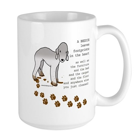 Bedlington Terriers Large Mug