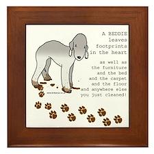 Bedlington Terriers Framed Tile