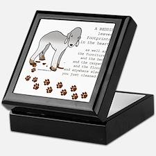 Bedlington Terriers Keepsake Box