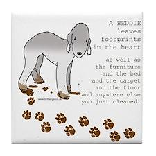 Bedlington Terriers Tile Coaster
