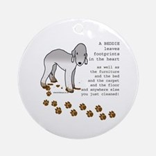 Bedlington Terriers Ornament (Round)