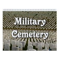Military Cemetery Wall Calendar