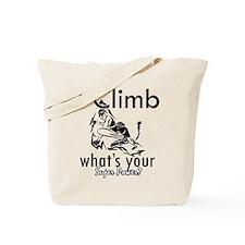 I Climb Tote Bag