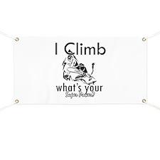 I Climb Banner