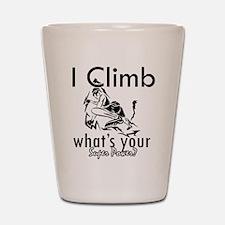 I Climb Shot Glass