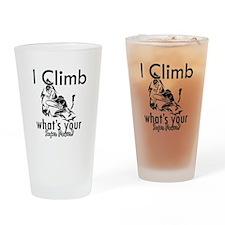 I Climb Drinking Glass
