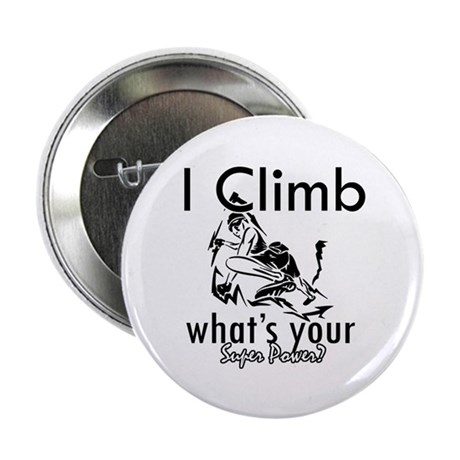 "I Climb 2.25"" Button (10 pack)"