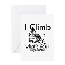 I Climb Greeting Card