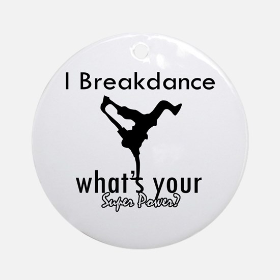 I breakdance Ornament (Round)