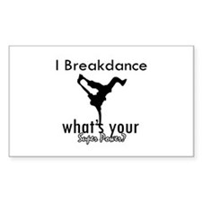 I breakdance Decal