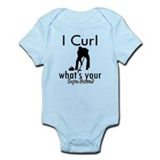I Curl Infant Bodysuit