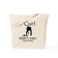 I Curl Tote Bag
