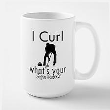 I Curl Mug
