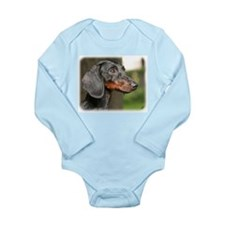 Dachshund 9Y420D-153 Long Sleeve Infant Bodysuit