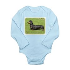 Dachshund 8R018D-16 Long Sleeve Infant Bodysuit