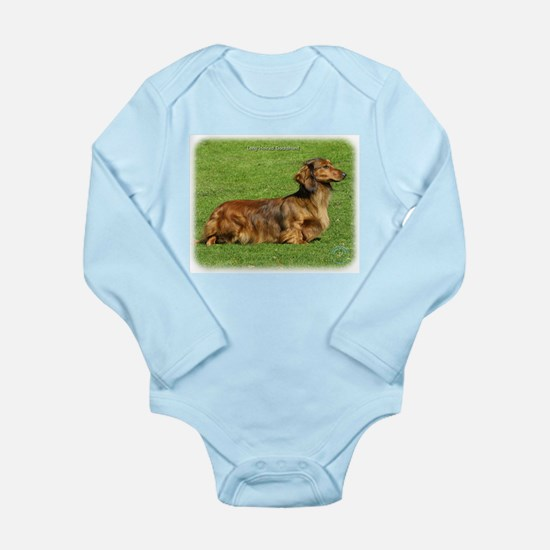 Dachshund 8R020D-05 Long Sleeve Infant Bodysuit