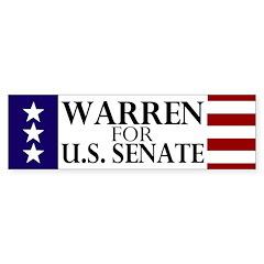 Warren for Senate Bumper Sticker
