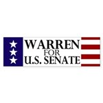 Warren for Senate Sticker (Bumper)