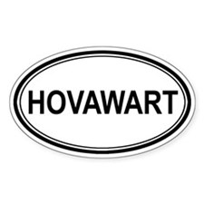 Hovawart Euro Oval Decal