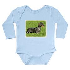 Dachshund 8R023D-08 Long Sleeve Infant Bodysuit
