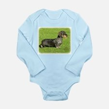 Dachshund 8R023D-08 Long Sleeve Infant Bodysuit