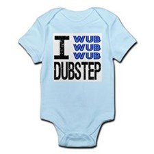 I Wub Dubstep Infant Bodysuit