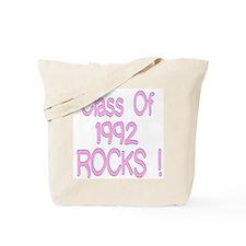 1992 Pink Tote Bag